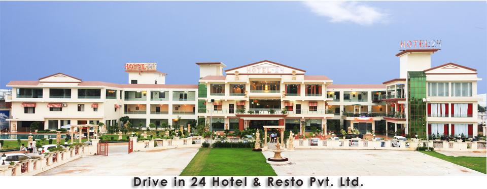 Drive in 24 Hotel & Resto in Moradabad