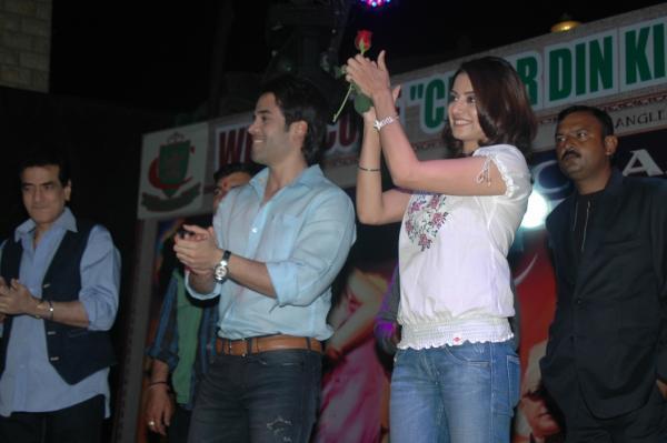 Tusshar Kapoor and Kulraj Randhawa in Moradabad